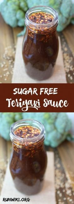 This easy Sugar Free Teriyaki sauce can be used in a variety of Asian inspired low carb dinner recipes, stir fry or bbq.