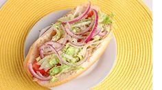 Chicken Cheesesteak Hoagies Recipe - Laura Vitale - Laura in the Kitchen...