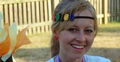 All Cheap Crafts: Olympic Rosette Headband