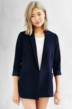 Love Sadie Textured Blazer - Urban Outfitters