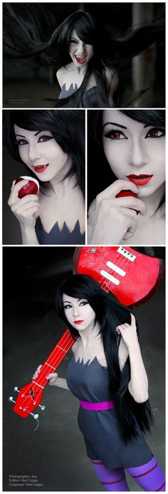 Marceline | http://cosplayblog.tumblr.com/post/40027642772/sudden-photoset-marceline-from-adventure