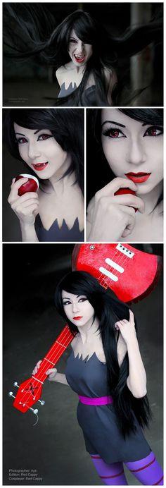 Marceline | http://cosplayblog.tumblr.com/post/40027642772/sudden-photoset-marceline-from-adventure