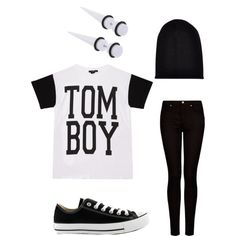 Tom Boy scene indie outfit