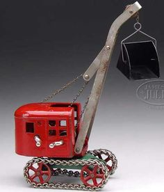 Not mine! But I sure wish it was. One of the most amazing cast iron toys ever made...Kenton Toy Co.