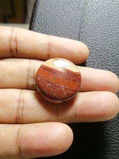 Natural Snakeskin Jasper Round, Smooth Round Cabochon, Gemstone- 23x23x7 MM Size Round Shape  Loose Gemstone-Jewellery Supply-Wholesalegems