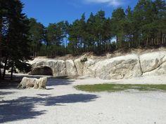 Sandsteinhöhlen Nähe Blankenburg und Festung Regenstein, Harzreise 2014- aufgenommen und gepinnt vom Immobilienmakler in Hannover: arthax-immobilien.de