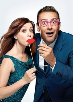 How I Met You Mother in Entertainment Weekly September 2011 / Alyson Hannigan and Jason Segel How I Met Your Mother, Ted And Tracy, I Meet You, Told You So, Barney And Robin, Marshall And Lily, Tv Show Couples, Movie Couples, Best Sitcoms Ever