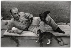 """Henri Cartier-Bresson"""".... French photographer, father of modern photojournalism and cat lover."""
