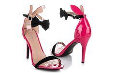 Różowe Lakierowane Sandałki Z Uszkami Doli-Berry