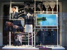Ralph Lauren is the official outfitter of Wimbledon and has kick-started the tennis season by using their windows in their store to showcase this. The Ralph Lauren creative team called on Tenn to deliver a specific type of window treatment for them. Crafted for Wimbledon With help from Tenn's specialist knowledge of ALU display systems, Tenn recommended ALU: Autopole Steel in the white powder coat finish.