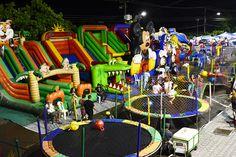 Espaços destinados às crianças garantem diversão com segurança durante o Boa Vista Junina 2015 #pmbv #prefeituraboavista #boavista #roraima
