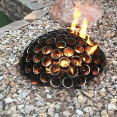 From used fence posts garten videos Fire dome