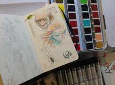 Kenneth Rocafort's sketch of the day # 12. January 12 2013