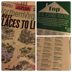 So I bought this magazine today at Whole Foods to educate myself on this years Best Places to Live...I see the Top Real Estate Agents section and had no idea I was listed!  I applaud Northern Virginia Magazine on selecting agents based on their sales record and not because agents PAY to be in it.  Thank you to my clients and the referrals from friends, previous co-workers, and family for helping me to achieve over $10M in sales year after year! #remax #realtor #realestate #northernvirginia…