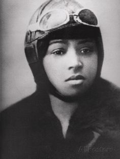 Bessie Coleman was the first African American female pilot; women's history, black women from history, african american women in history, female firsts Harlem Renaissance, Black History Facts, Black History Month, Bessie Coleman, Kings & Queens, Female Pilot, Portraits, We Are The World, Before Us
