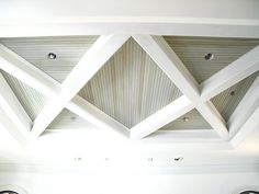 Coffered ceiling detail by Brock Builders