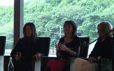 Marianne Gunn O'Connor, Suzanne Baboneau and Anita Shreve Writer Idol