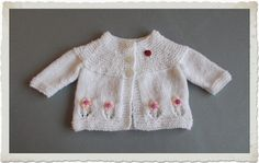 marianna's lazy daisy days: Fleur Baby Cardigan Jacket