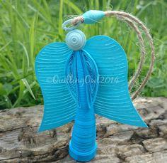 Little Angel paper quilling angel por QuillingOwl en Etsy
