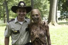 Awww one of my fave walkers with Rick. Haaaaaaaarrrrr    We Are the Walking Dead - March 28th, 2011 on we heart it / visual bookmark #8552984