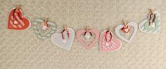 January Paper Pumpkin- Banner Added white card stock and Heart framelits!!