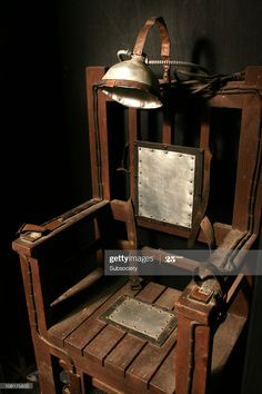 Stock Photo : electric chair Near Dark, River Flow In You, Hard Music, Electric Chair, Velvet Room, Halloween Wishes, Bar Stool Chairs, Rustic Chair, Barber Chair