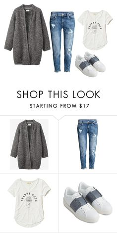 """Untitled #399"" by ema-jones ❤ liked on Polyvore featuring Toast, H&M, Hollister Co. and Valentino"