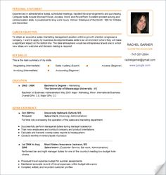 resume samples - Google Search