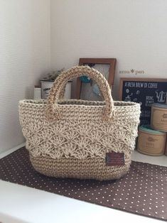 "This is how the ""Nordic Christmas"" look works: God Jul! Crochet Clutch, Crochet Handbags, Crochet Purses, Knit Crochet, Crotchet Bags, Crochet Cushions, Macrame Bag, Purses And Bags, Crochet Patterns"