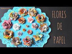 Cómo Hacer Flores de Papel - YouTube