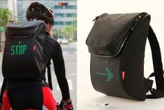 SEIL, Safe-Enjoy-Interact-Light, mochila-para-bicileta-com-led, mochila-sinalizadora-bicicleta, sinalização-bicicleta, por-que-nao-pensei-ni...