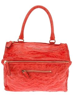 #GIVENCHY Medium 'Pandora' #Bag #orange #style