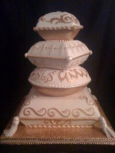 Pillow Wedding Cakes | Pillow Cake | Flickr - Photo Sharing!