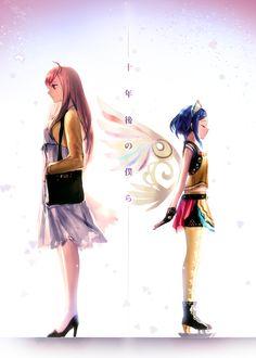Pretty rhythm rainbow live Naru and Rinne.
