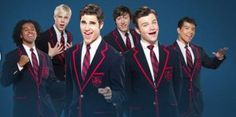 i love glee, i do. but lately it's been all about the warblers! #glee #warblers
