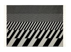 Vitra Create Jacquard Woven Merino Wool Blankets Featuring Eames & Girard Prints
