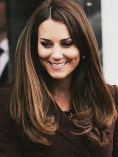 Miss Middleton  That effortless look...