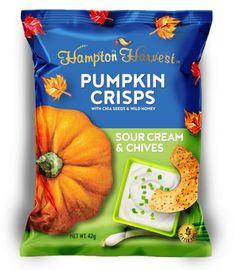 상품명 이미지 Packaging Snack, Food Packaging Design, Packaging Design Inspiration, Packaging Ideas, Label Design, Package Design, Pumpkin Crisp, Food Graphic Design, Organic Recipes