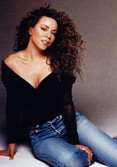 Mariah Carey Preto E Branco Celebrity Moms Mariah Carey Young, Mariah Carey Anos 90, Beyonce, Rihanna, Mariah Carey Butterfly, Maria Carey, Divas, Meagan Good, Hip Hop