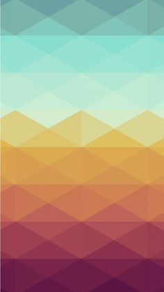 Colorful Rhombus Pattern. Colorful Pattern iPhone Wallpapers to brighten up your phone! Tap to see more! - @mobile9