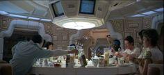 Alien Dinner Scene