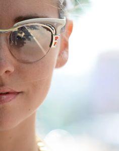 ✕ Beautiful glasses… / #beauty #style #makeup #sunglasses