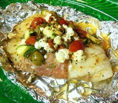 Mediterranean Tilapia Pockets #RSC Recipe - Food.com - 487593