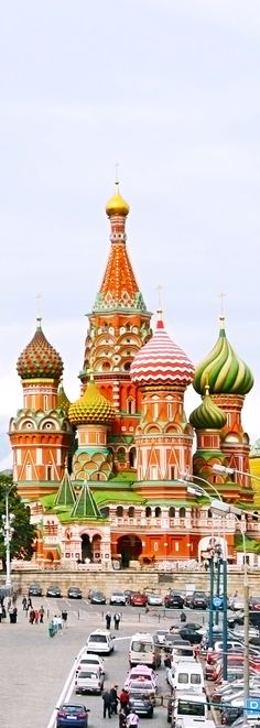 Red Square in Moscow, Russian Federation. National Landmark. Tourist Destination.