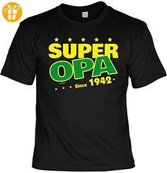 T-Shirt Super Opa since 1942 T-Shirt zum 75. Geburtstag Geschenk zum 75 Geburtstag 75 Jahre Geburtstagsgeschenk 75-jähriger (*Partner-Link)