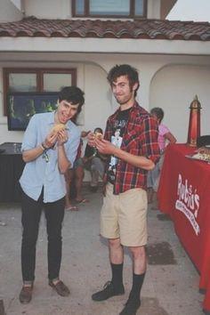 Ezra and CT - Vampire Weekend
