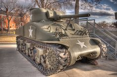 Military Tanks - Sherman