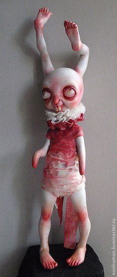 """Toys & Dolls by """"Nonhuman"""", Shop Assistant (Moscow, Russia). Handmade."""
