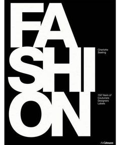 Fashion, coffee table book