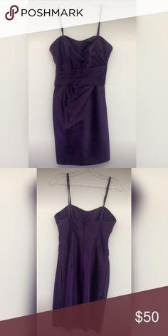 Da Vinci Bridesmaids dress Beautiful eggplant color, size 8, never worn. da vinci Dresses Wedding